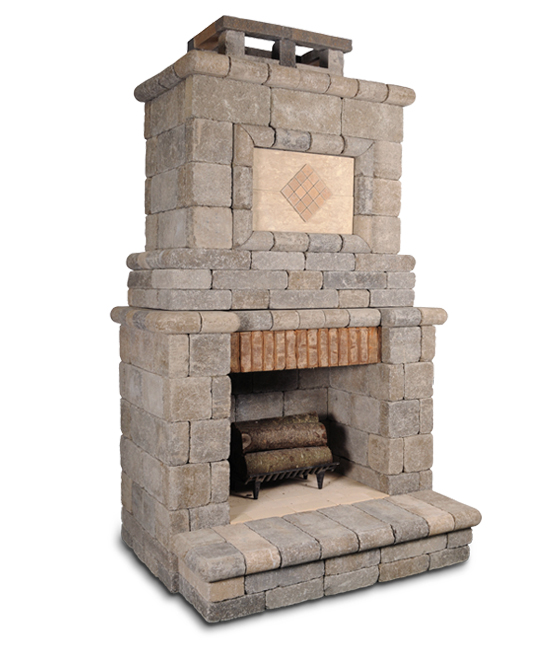 The Serenity 200 Fireplace