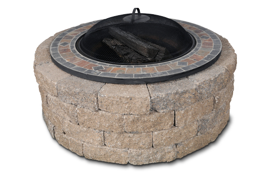 The Entertainer Round Fire Pit