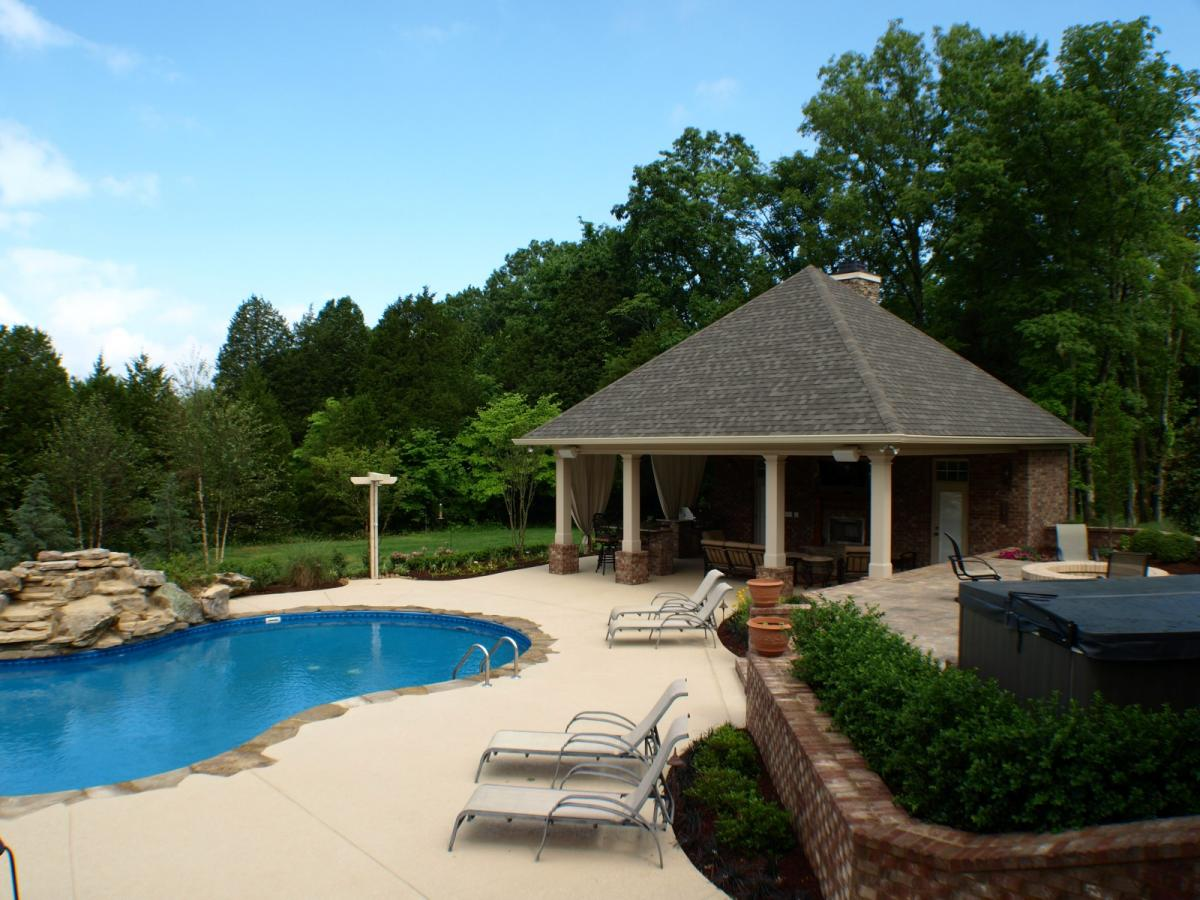 swimming pools u0026 backyard resorts backyard living nashville